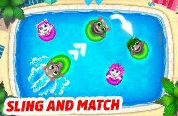 Talking Tom Pool 2.0.2.538 Apk + Mod Money for android